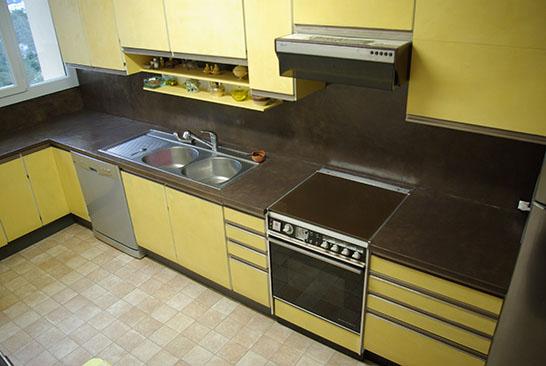 B ton cir enduits cir s cr ation de mati re pigments for Renovation plan de travail cuisine beton cire
