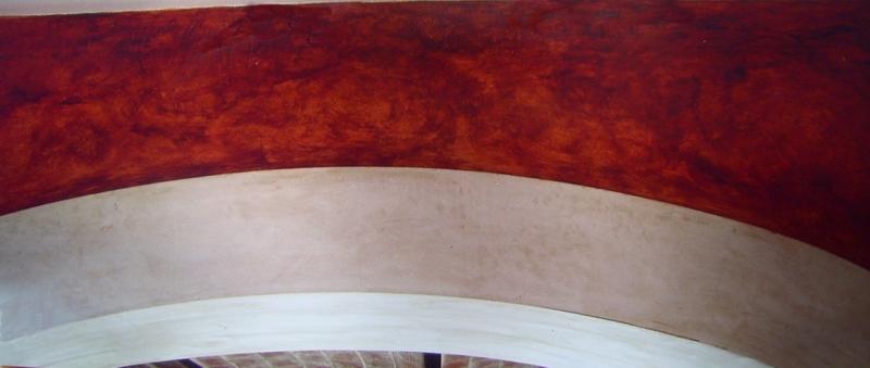 décoration peinture dans le Gard, chaux, béton ciré, enduits cirés, patines.pigments naturels peintre décorateur uzes arpaillargues nimes